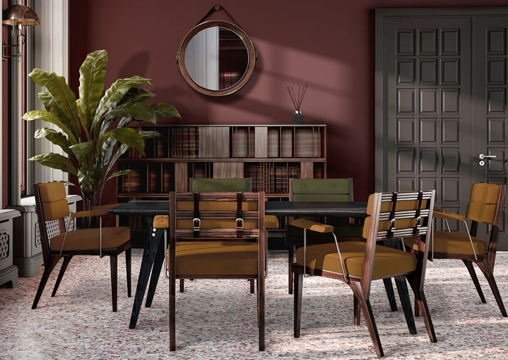 Wood Dining Chair- 1