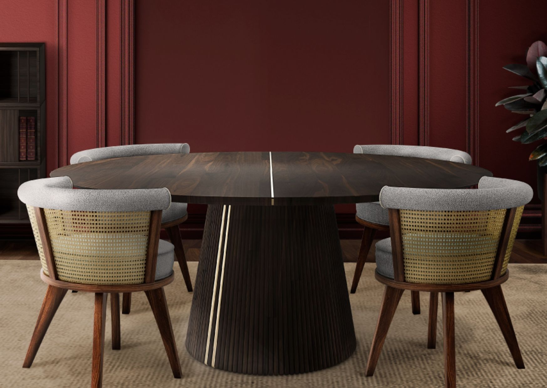 Wood Dining Chair- 4