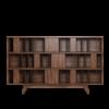 Wordsworth Bookcase in noble walnut wood