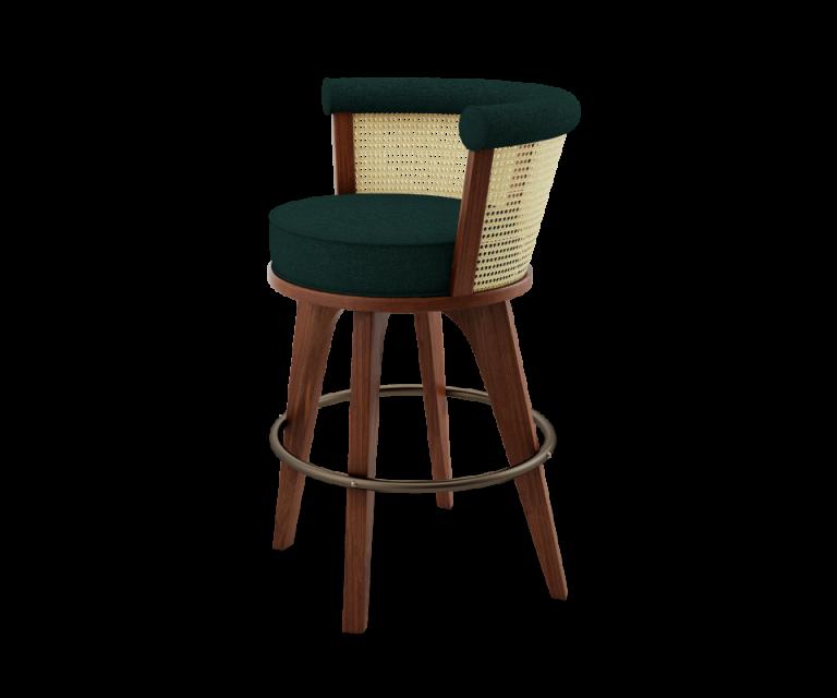bar-chair-forest-green