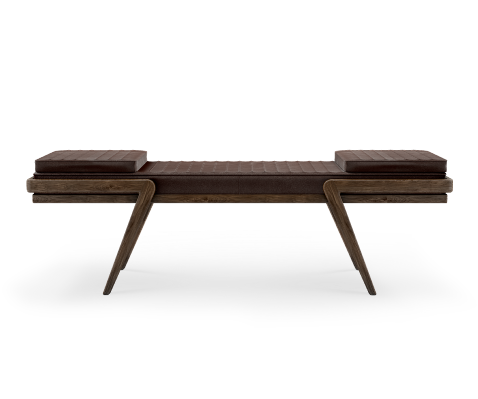 bench-noble-wood-brown-leather-club-decor-luxury
