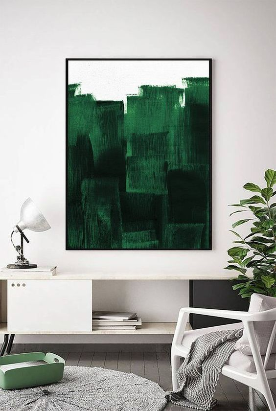forest-green-color-trend-interior-decor