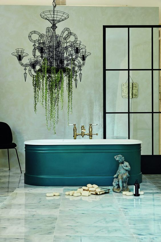 forest-green-color-trend-interior-decor