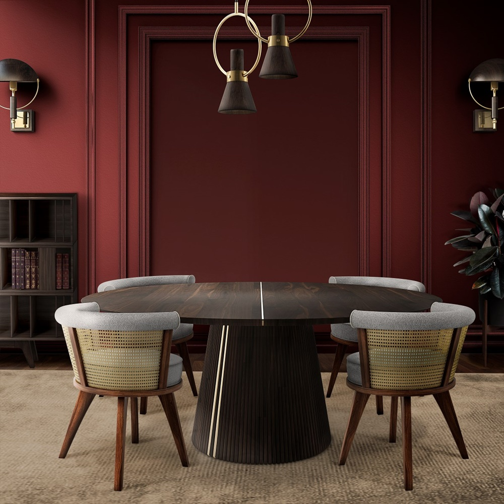 George Rattan Dining Cairs