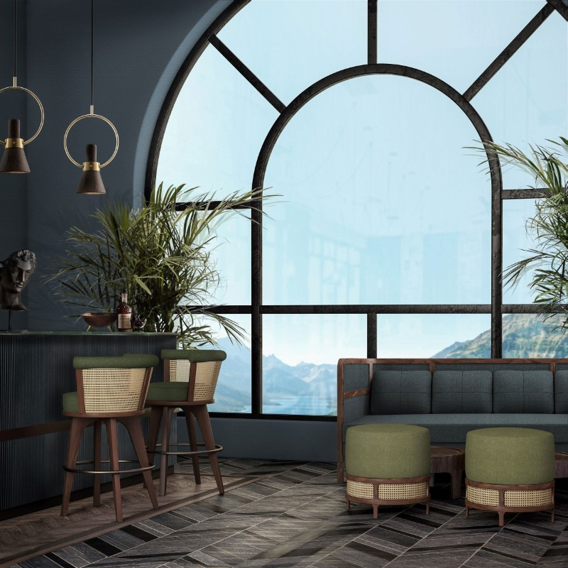 george bar chair and stool ambient 5