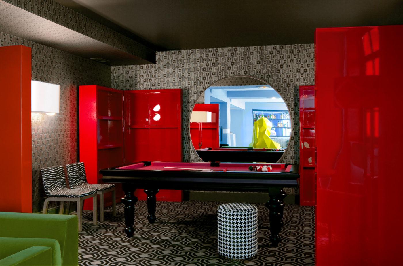 India Mahdavi- Interior Design Project-Le-Germain_2009_restaurant