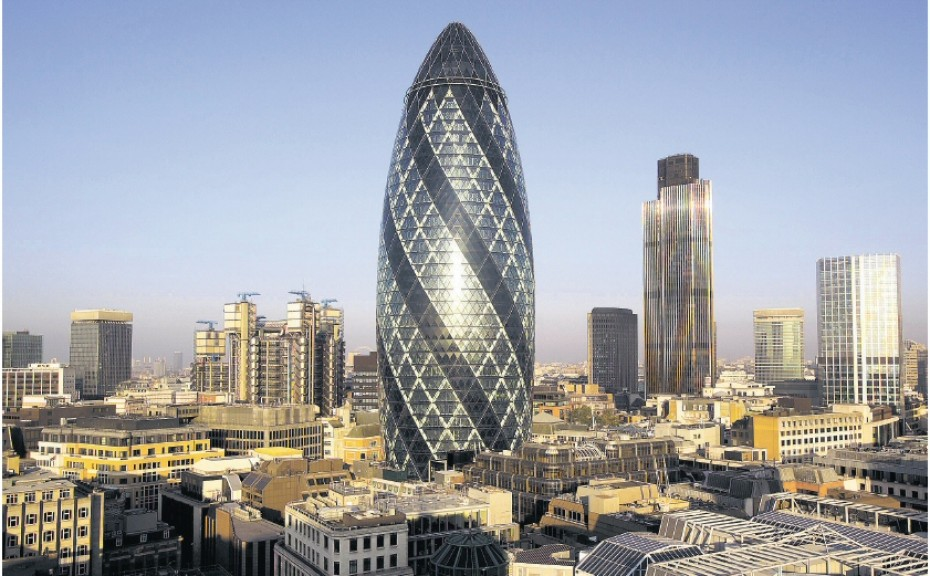 Most Known Architects- 30 St Mary Axe