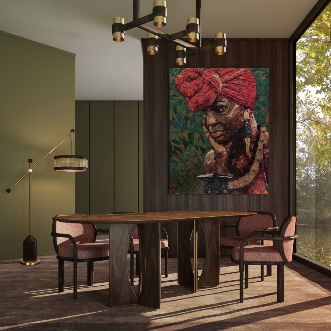 Taylor Oblong Dining Table