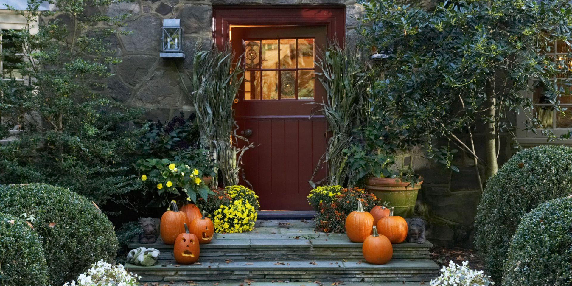 thanksgiving frontdoor decor