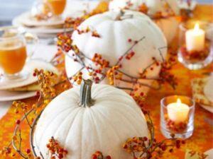 table decor thanksgiving