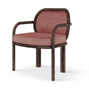 Wood Dining Chair- James