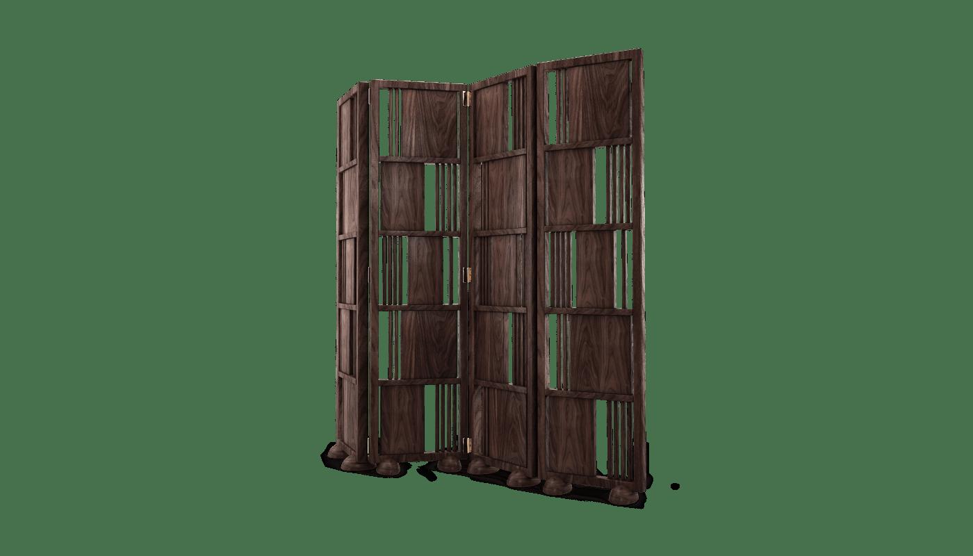 Wordsworth Folding Screen