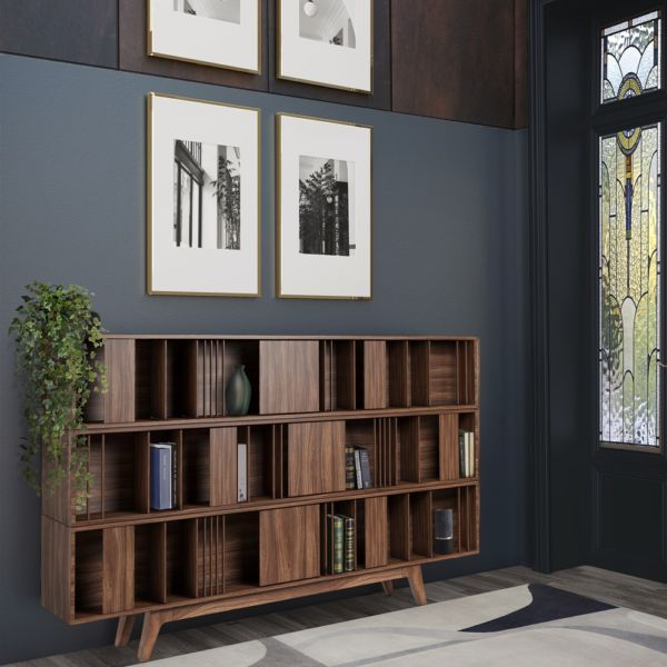Wordsworth Wooden Bookcase
